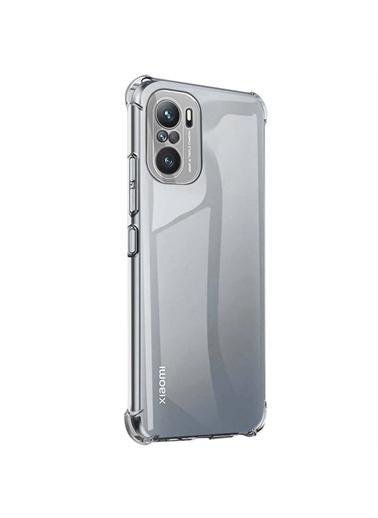 Microsonic Xiaomi Poco F3 Kılıf Shock Absorbing Şeffaf Renksiz